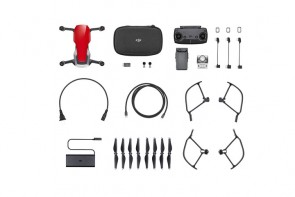 Mavic Air Fly More Combo Rojo